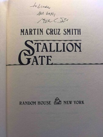 STALLION GATE. by Smith, Martin Cruz.
