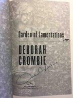 GARDEN OF LAMENTATIONS. by Crombie, Deborah
