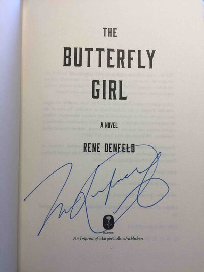 THE BUTTERFLY GIRL. by Denfeld, Rene.
