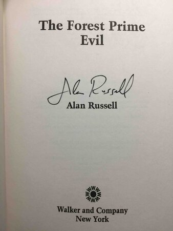 THE FOREST PRIME EVIL. by Russell, Alan.