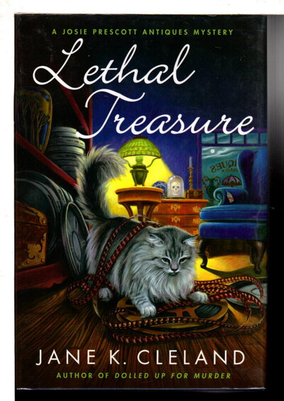 LETHAL TREASURE. by Cleland, Jane K.