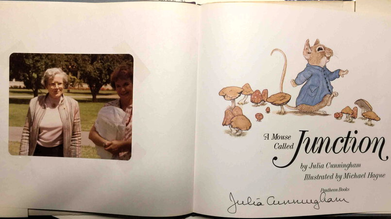 A MOUSE CALLED JUNCTION. by Cunningham, Julia; Illustrated by Michael Hague.
