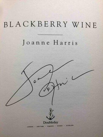 BLACKBERRY WINE. by Harris, Joanne.