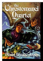 THE CHRESTOMANCI QUARTET: Charmed Life, Witch Week, The Magicians of Caprona, The Lives of Christopher Chant. by Jones, Diana Wynne.
