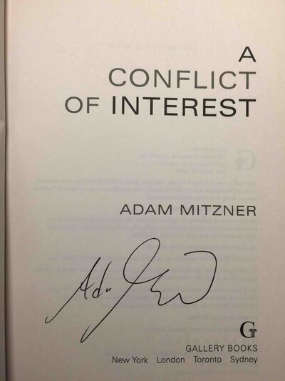 CONFLICT OF INTEREST. by Mitzner, Adam.