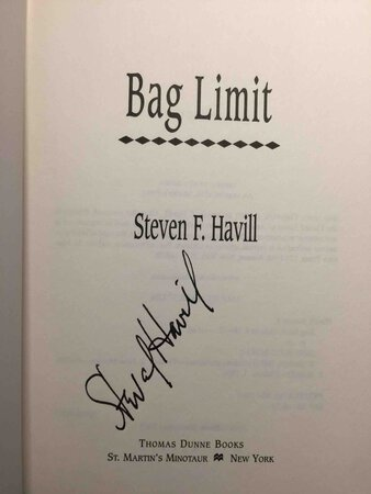 BAG LIMIT. by Havill, Steven F.