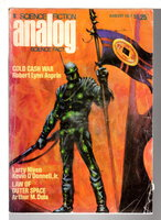 ENDER'S GAME in ANALOG: Science Fiction, Science Fact. August 1977. by Card, Orson Scott.