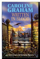 WRITTEN IN BLOOD. by Graham, Caroline.
