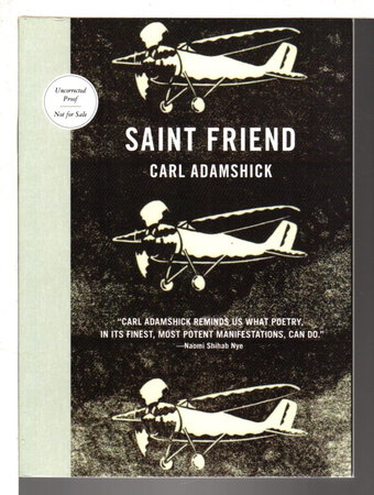 SAINT FRIEND. by Adamshick, Carl.