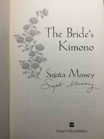 THE BRIDE'S KIMONO. by Massey, Sujata.