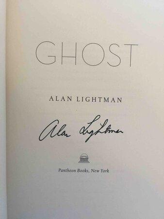GHOST. by Lightman, Alan.