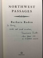 NORTHWEST PASSAGES. by Roden, Barbara.
