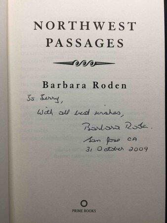 NORTHWEST PASSAGES. by Roden, Barbara.