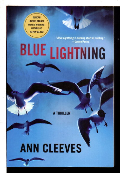 BLUE LIGHTNING. by Cleeves, Ann.