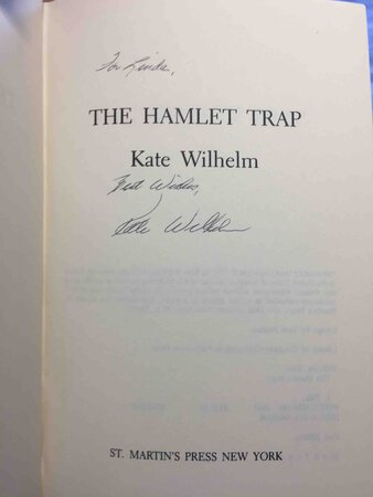 THE HAMLET TRAP. by Wilhelm, Kate.