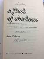 A FLUSH OF SHADOWS: Five short novels featuring Constance Leidi and Charlie Meiklejohn. by Wilhelm, Kate.