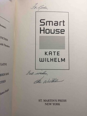 SMART HOUSE. by Wilhelm, Kate.