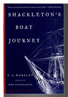 SHACKLETON'S BOAT JOURNEY by Worsley, Frank Arthur.