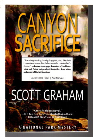CANYON SACRIFICE. by Graham, Scott