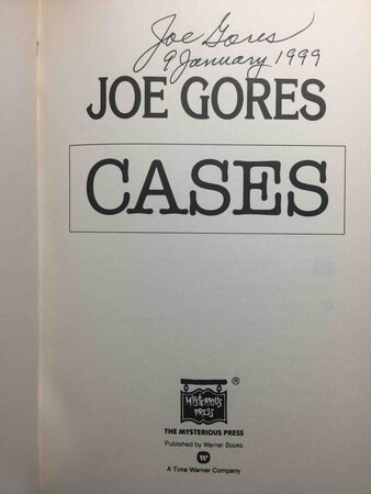 CASES. by Gores, Joe/
