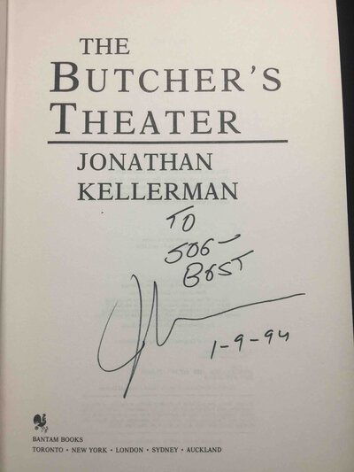 THE BUTCHER'S THEATER. by Kellerman, Jonathan.