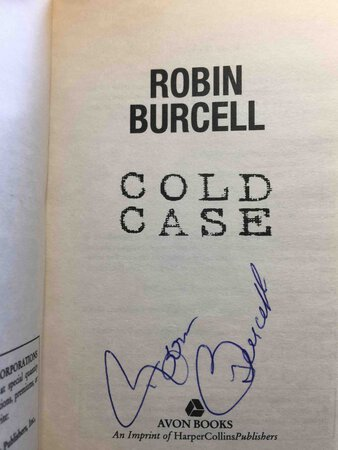 COLD CASE. by Burcell, Robin.