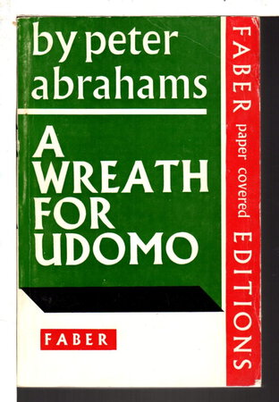 A WREATH FOR UDOMO. by Abrahams, Peter.