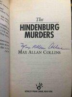 THE HINDENBURG MURDERS. by Collins, Max Allan.