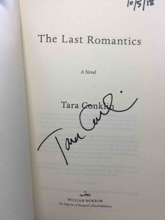 THE LAST ROMANTICS. by Conklin, Tara.