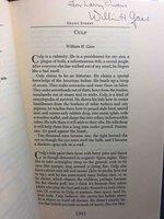 GRAND STREET, SUMMER 1984, Volume 3, Number 4. by Sonnenberg, Ben, editor. William Gass, signed.