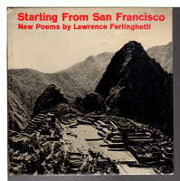 STARTING FROM SAN FRANCISCO: Poems. by Ferlinghetti, Lawrence.