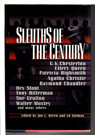 SLEUTHS OF THE CENTURY. by [Anthology, signed] Breen, Jon L. and Ed Gorman, editors. Sara Paretsky, signed.