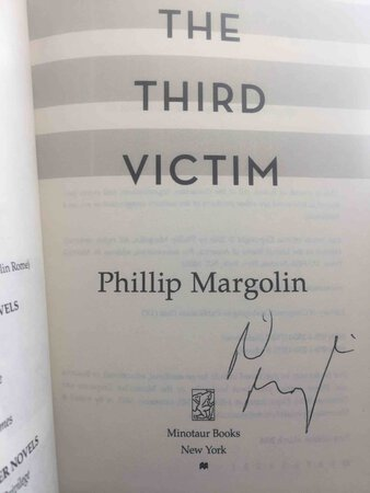 THE THIRD VICTIM. by Margolin, Philip.