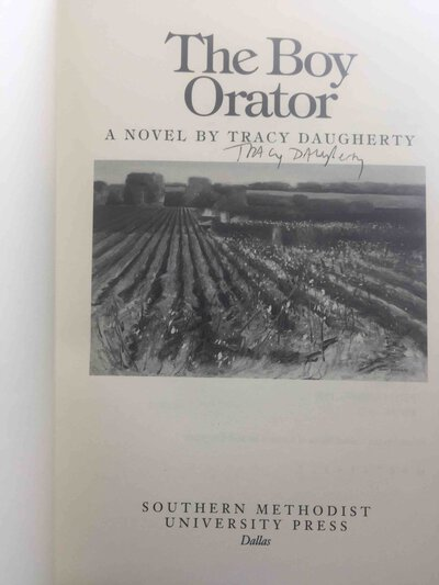 THE BOY ORATOR. by Daugherty, Tracy.