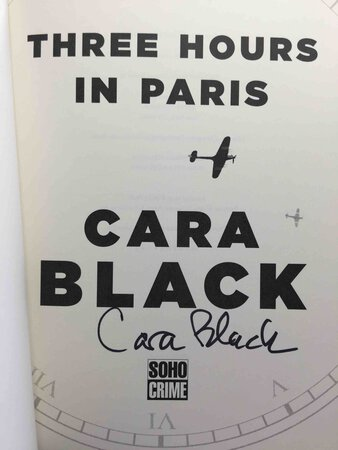 THREE HOURS IN PARIS. by Black, Cara.
