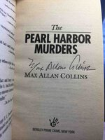 THE PEARL HARBOR MURDERS. by Collins, Max Allan.