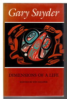 GARY SNYDER: DIMENSIONS OF A LIFE. by [Snyder, Gary, signed] Halper, Jon, editor.