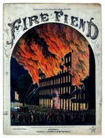 FIRE FIEND: DESTRUCTION OF PIKE'S OPERA HOUSE, MARCH 22ND, 1866.