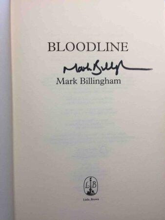 BLOODLINE. by Billingham, Mark.