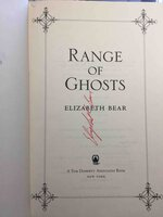 RANGE OF GHOSTS. by Bear, Elizabeth.