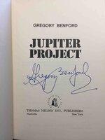 JUPITER PROJECT by Benford, Gregory