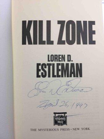 KILL ZONE. by Estleman, Loren D.