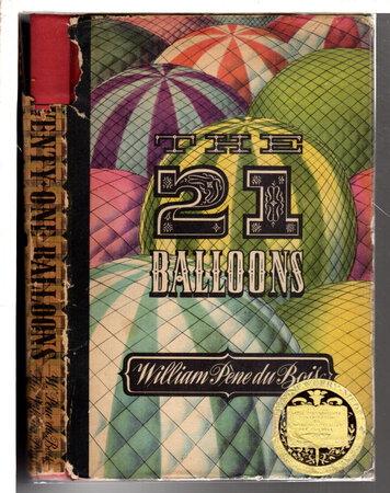 THE TWENTY-ONE BALLOONS. by Du Bois, William Pene (1916 - 1993)
