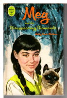 MEG AND THE DISAPPEARING DIAMONDS .#1. by Walker, Holly Beth. (pseudonym for Gladys Baker Bond.)