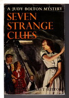 SEVEN STRANGE CLUES: Judy Bolton #4. by Sutton, Margaret