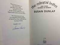THE CELESTIAL BUFFET and Other Morsels of Murder. by Dunlap, Susan.