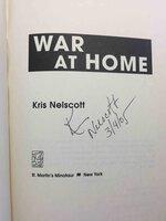 WAR AT HOME. by Nelscott, Kris.