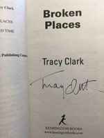 BROKEN PLACES. by Clark, Tracy.