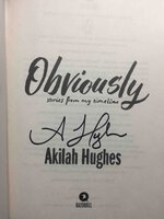OBVIOUSLY: Stories from My Timeline. by Hughes, Akilah.