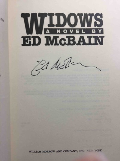 WIDOWS. by McBain, Ed.